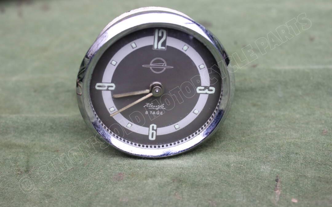 KIENZLE 8 TAGE PKW uhr auto klok car clock 1950's OPEL