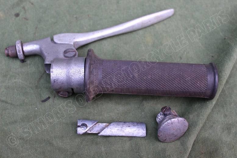 MAGURA gashandvat / remhendel NSU ?? throthle & frontbrake lever 1950's