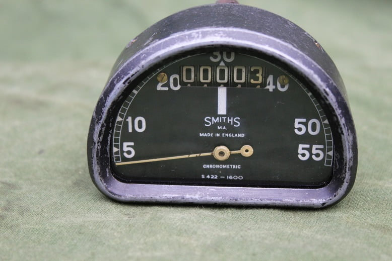 SMITHS S422 55 Mph chronometric D type  mijlenteller speedometer tacho