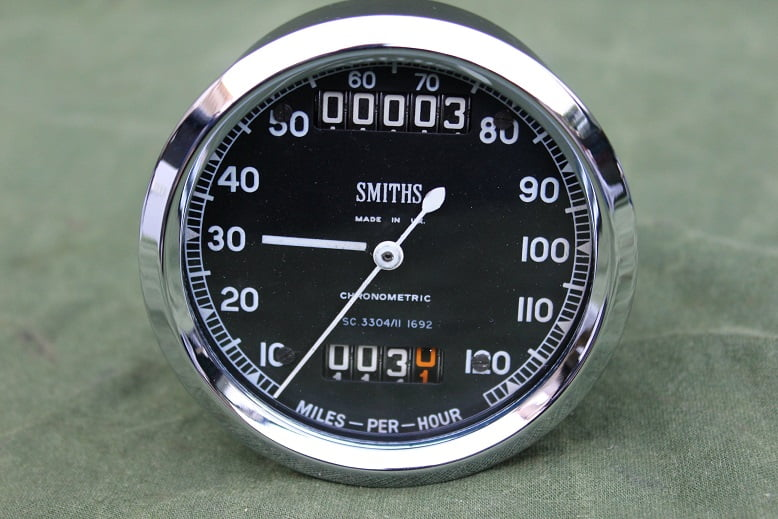SMITHS SC3304/11 120 Mls chronometric  mijlenteller tacho speedometer
