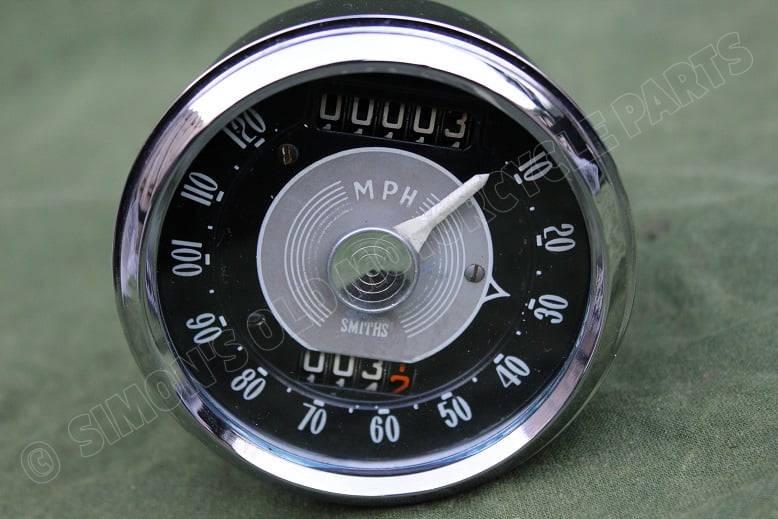SMITHS SC3308/00 120 Mph chronometric mijlenteller speedometer tacho SC 3308/00