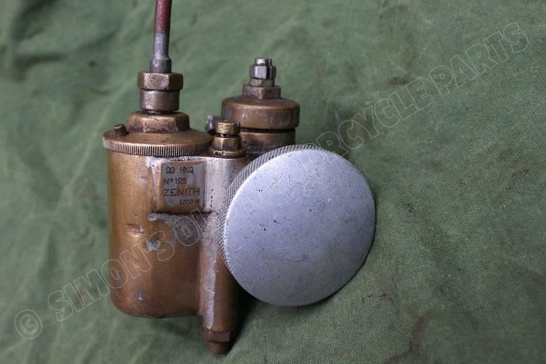 ZENITH 20 HKG No. 129 bronzen carburateur vergaser carburettor 1920's