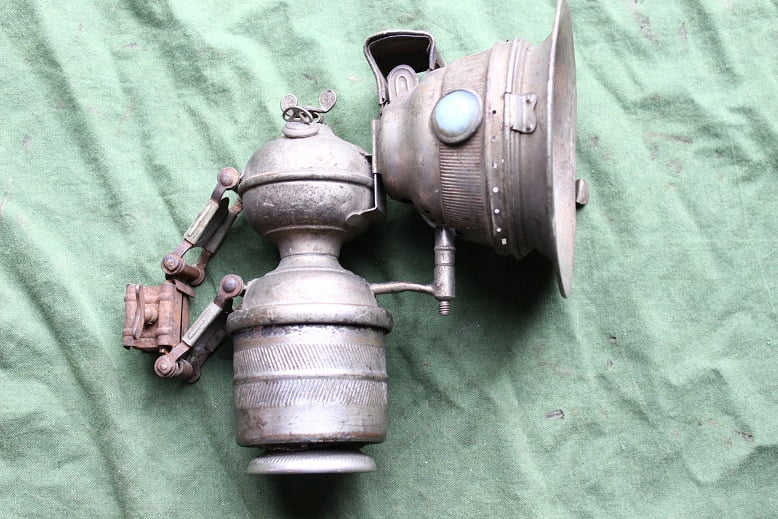 RADSONNE 1920's carbidlamp bicycle acetylene lamp karbidlampe  Fahrrad