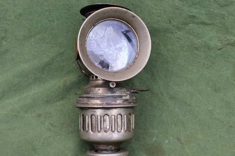 WILHELMINA carbidlamp acetylene lamp karbid lampe fahrrad