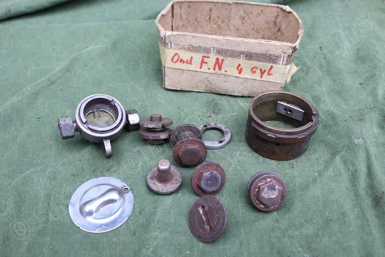 FN 4 cilinder motorfiets olie filter four cylinder motorcycle oil filter 1915 ? HELD reserved