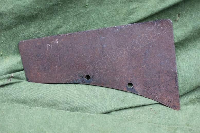 1930's ARIEL ?? voorspatbord nummerbord front mudgard number shield