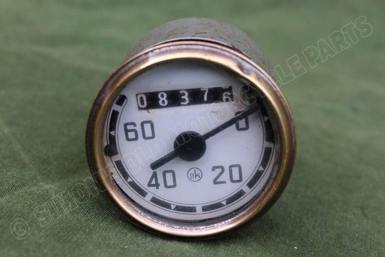 OK 60 KM 1955 kilometer teller speedometer tacho Hercules Zündapp Triumph ??