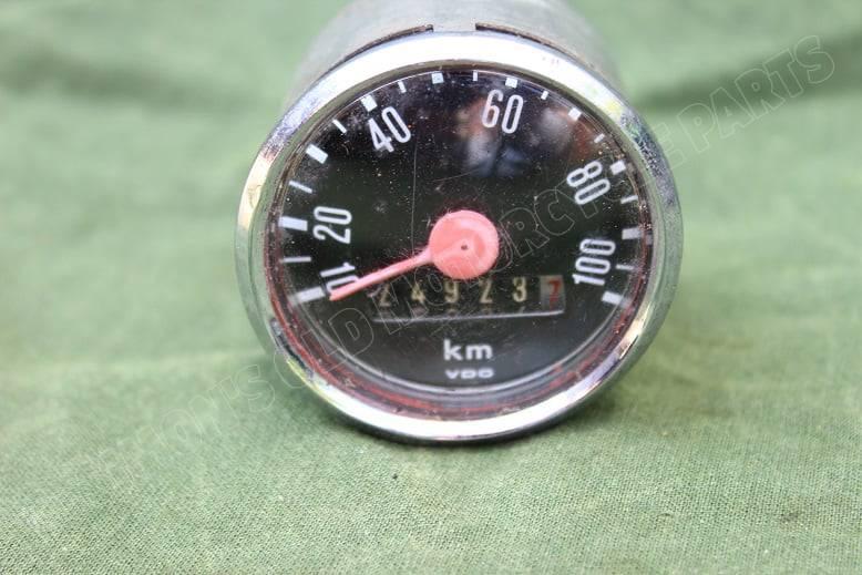 VDO 100 KM kilometer teller 1975 Zündapp ?? KREIDLER ?? 48 mm tacho speedometer