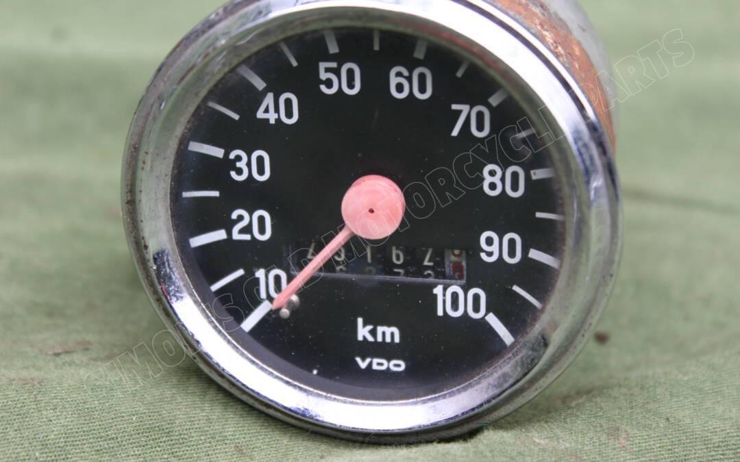 VDO 100 KM kilometer teller speedometer tacho ZÜNDAPP ?? 1975 60 mm