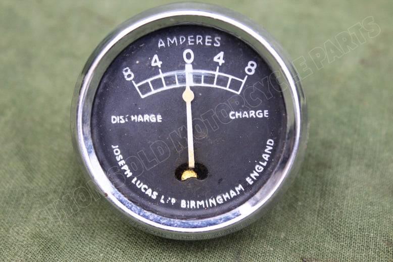 LUCAS CZ27 8-8 ampere meter ammeter amper messer CZ 27