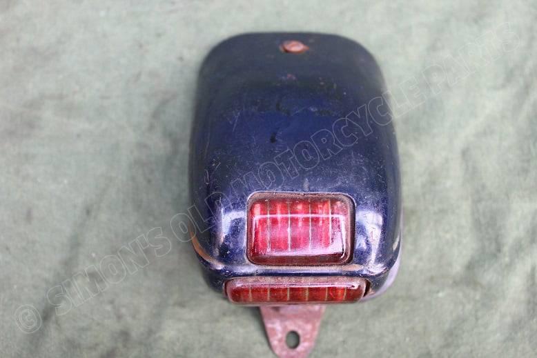 1950's achterlicht JAWA ? motorcycle rearlight motorrad rucklicht