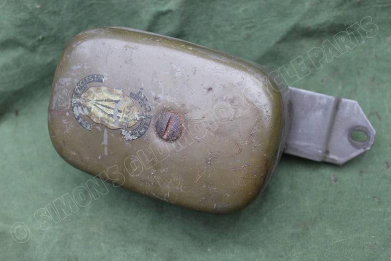 BSA BANTAM 1950's ? gereedschap kastje toolbox