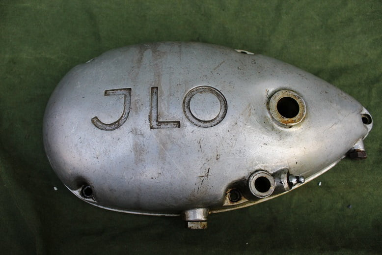 JLO 1950's motorblok deksel engine cover ILO part no. R 115.35 -102.0