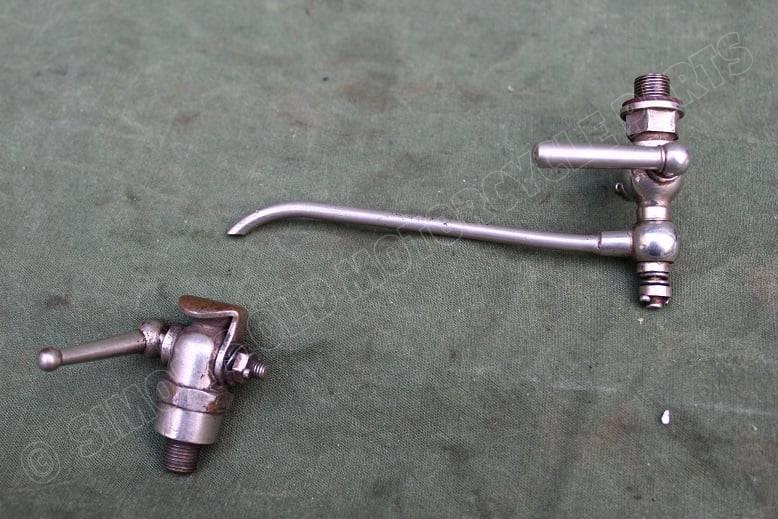 SUNBEAM ? Best Loyd koude start benzine kraan cold  start petroltap and receiver  HELD reserved 1920's