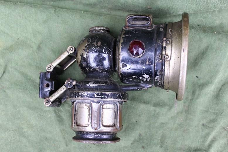 LUCAS 1924 fiets carbidlamp bicycle acetylene lamp fahrrad karbid lampe