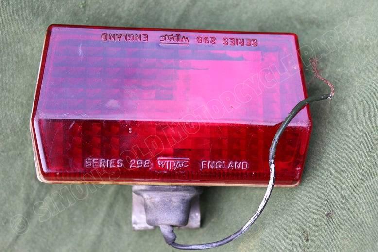 WIPAC series 298 mist achterlicht rear foglight ruck nebel lampe 1960's / 1970's