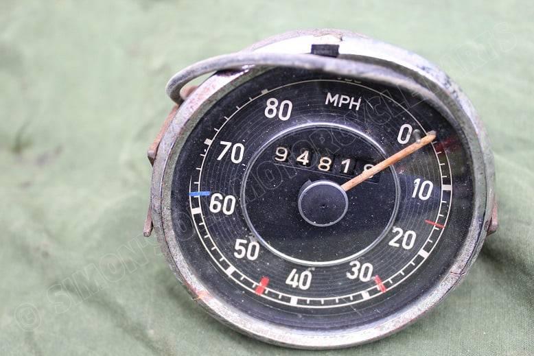 VDO 80 miles 1951 mijlenteller speedometer tacho Mercedes 170 ??