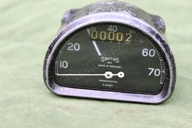 SMITHS S630/L 70 MLS D type chronometric mijlenteller speedometer tacho