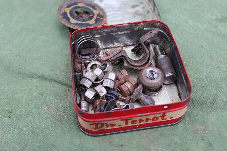 TERROT motorfiets onderdelen voorvork ?  motorcycle parts motorrad teile