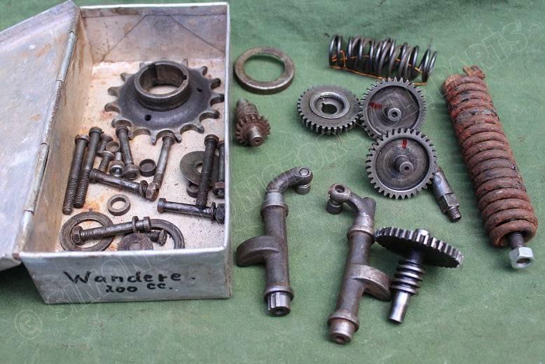 WANDERER 200 cc 1920's motorblok delen engine parts motor teile
