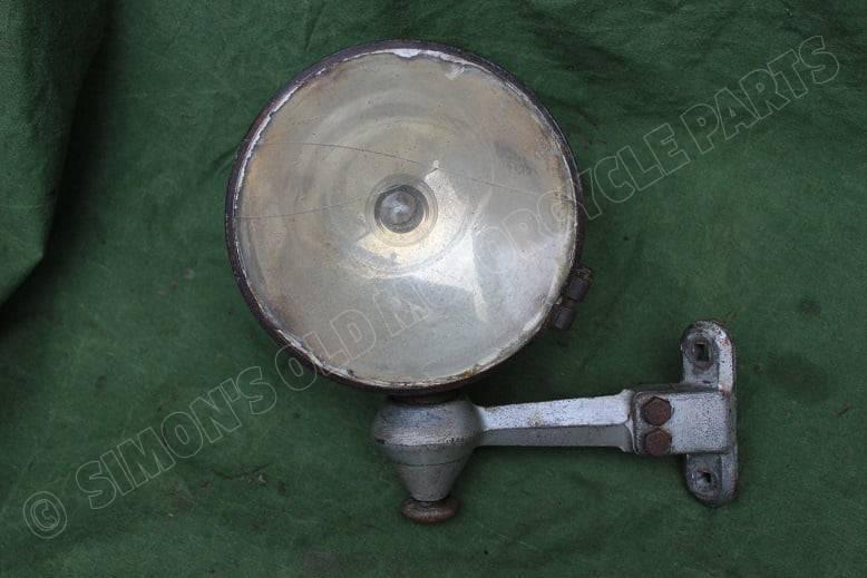 WILLOCQ BOTTIN STAR 1920's / 1930's zoeklicht search light such lampe PKW