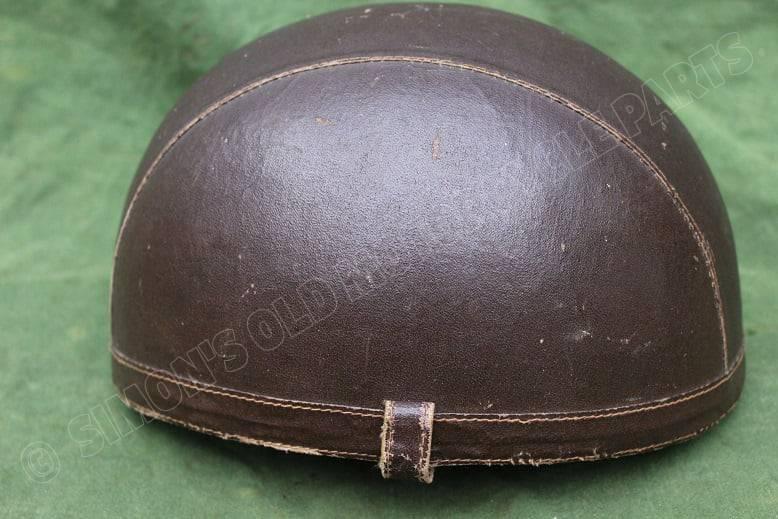 BAYARD 1940's / 1950's motorfiets helm motorcycle helmet HELD reserved