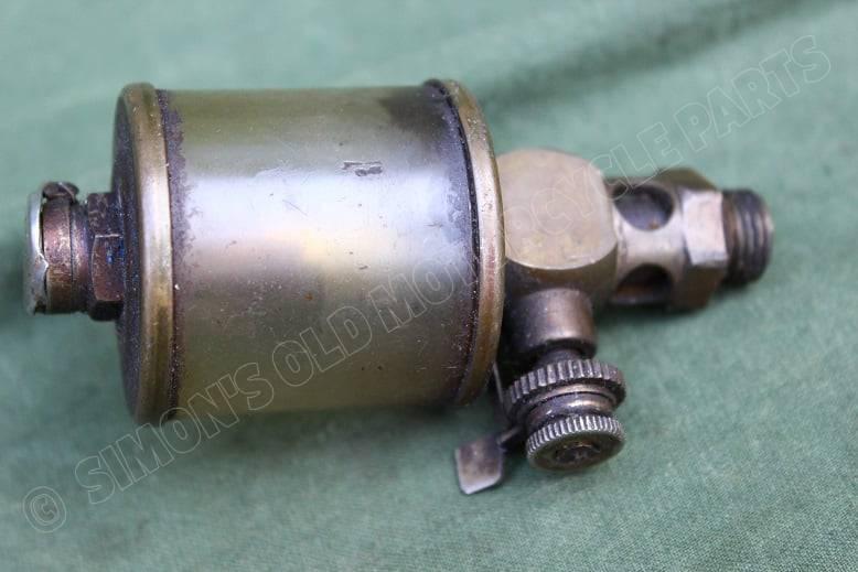 PABA DRP olie druppelaar olie potje stationaire motor oil dripfeed stationair engine