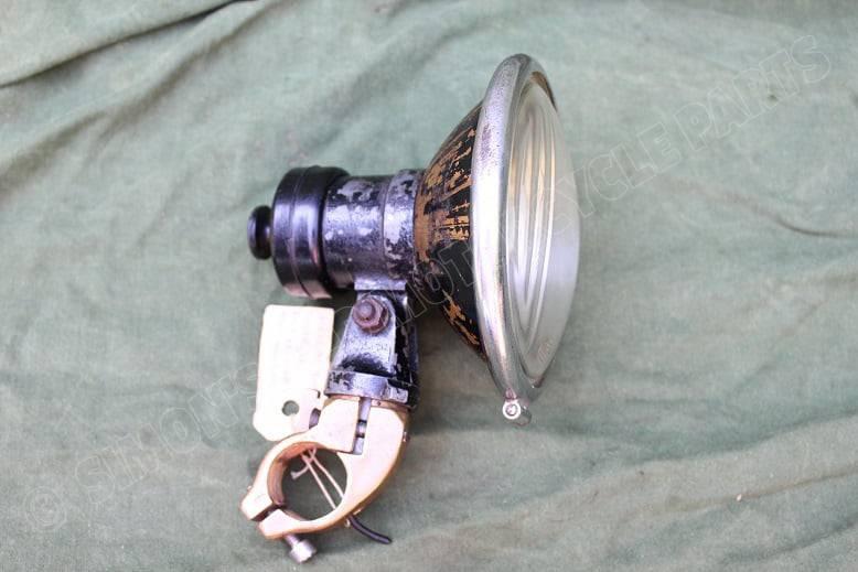HELLA 1930's stuurschijnwerper handlebar spotlight lenker suchlampe BMW