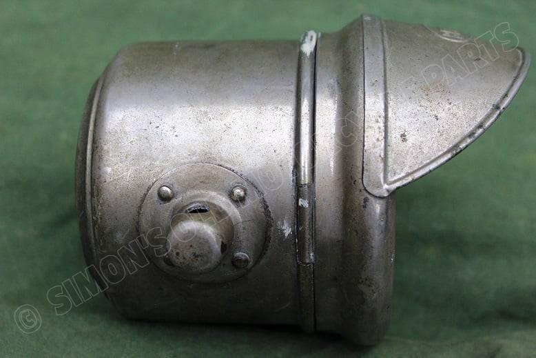 BERKO 1920's lichte motorfiets koplamp headlamp scheinwerfer