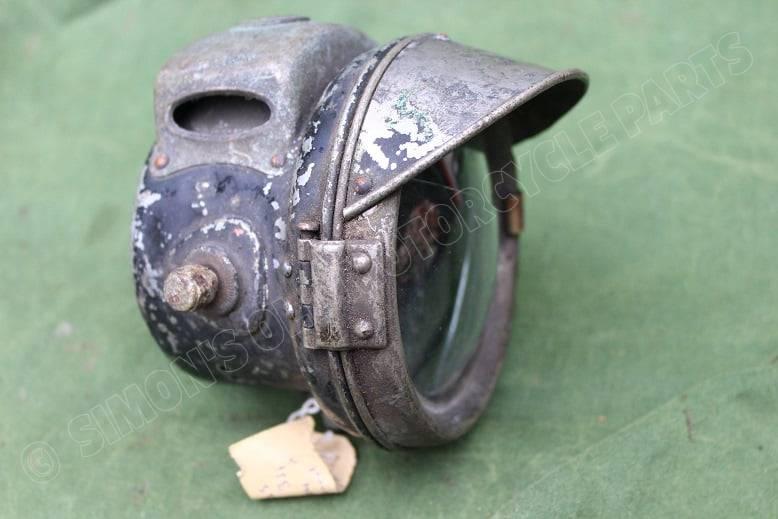 LUCAS No. 331 1924 motorfiets carbidlamp acetylene light Karbidlampe