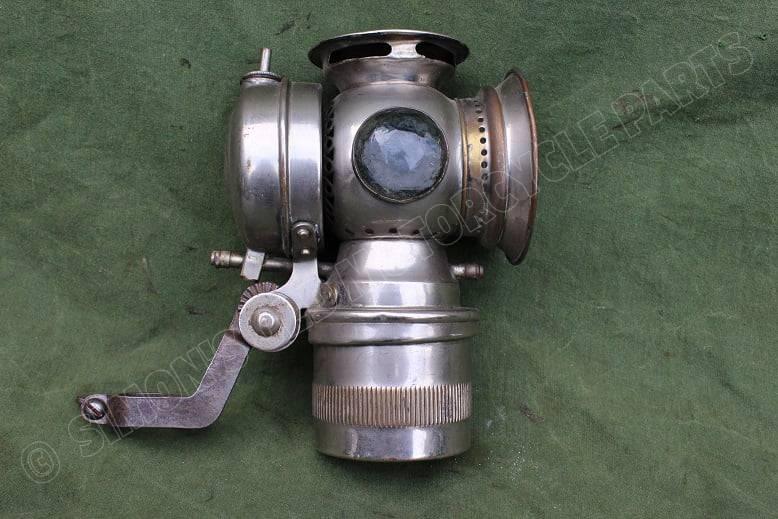 SOLAR USA 1920's carbidlamp  acetylene lamp  karbidlampe