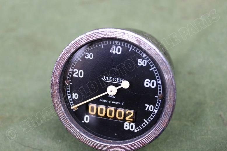 JAEGER 80 KM kilometer teller tacho speedometer