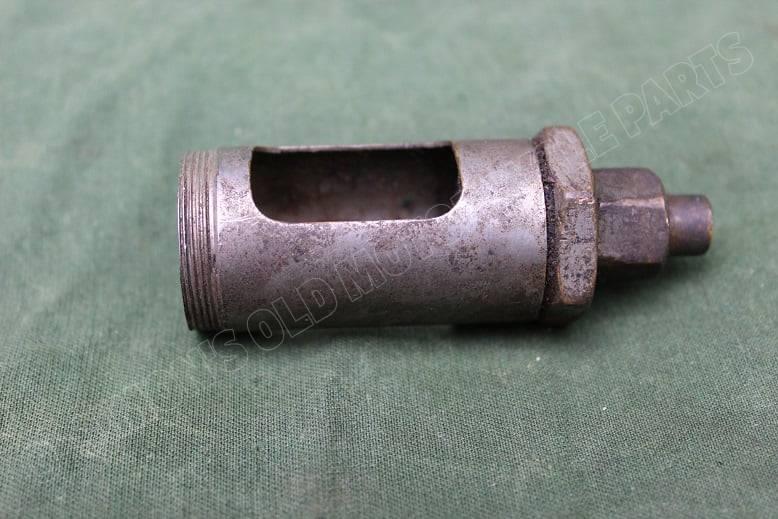 onderdeel olie druppelaar part oildrip sight feed 1920's