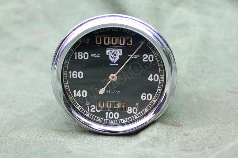 SMITHS S433/7/L 180 KM chronometric kilometerteller speedo tacho