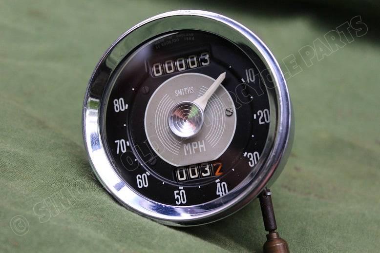 SMITHS SC5308/00  1584 80 Miles chronometric speedometer mijlenteller tacho Ariel Leader ?