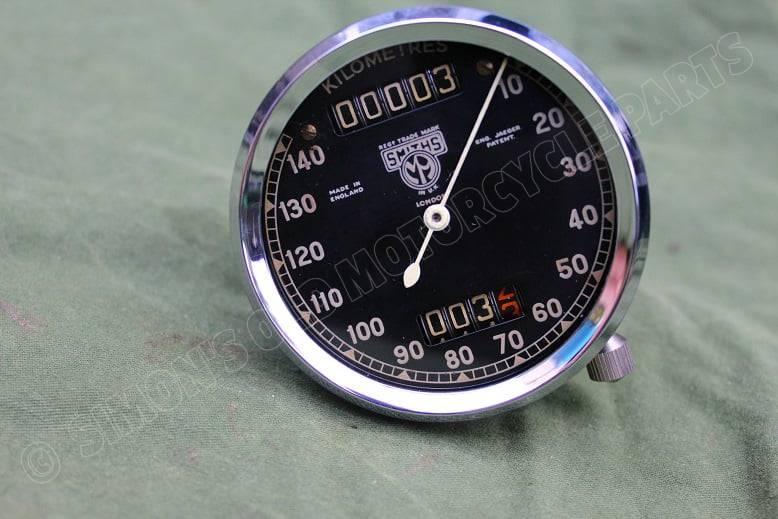 SMITHS 140 KM chronometric kilometerteller speedometer tacho